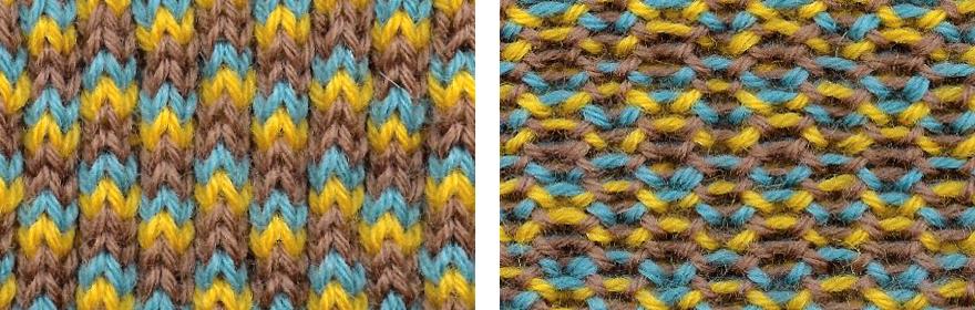 Double Brioche Stitch Brioche Stitch