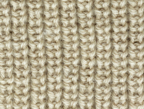 One Color Variations Brioche Stitch Where Stitches Are Baked